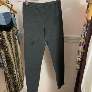 gray Charlotte Rousse leggings